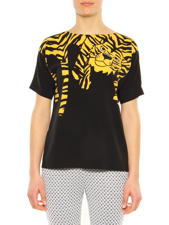 T-Shirt Moschino Cheap And Chic black