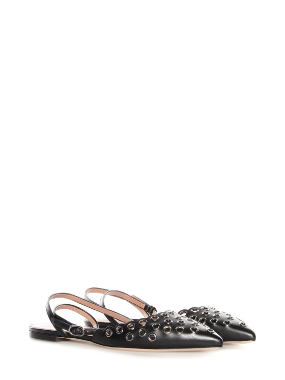 Sandals Red Valentino black