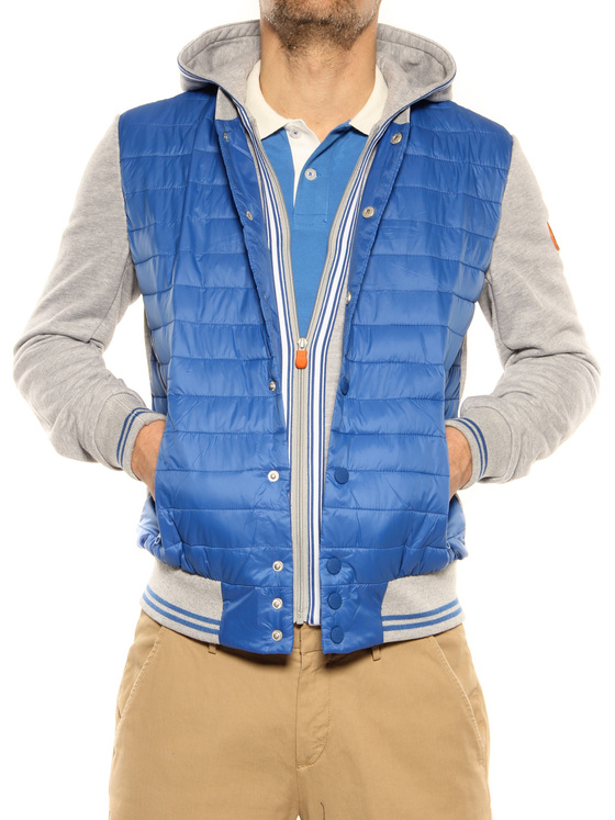 Casual jacket Save the Duck blue-grey