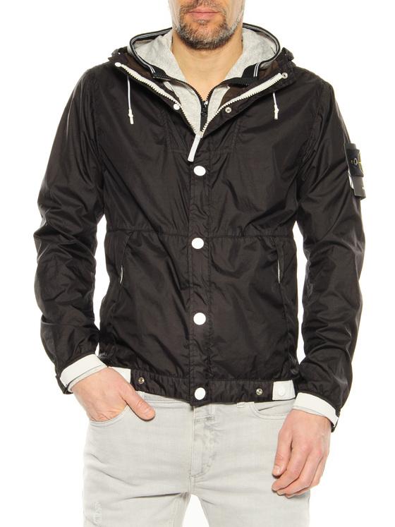 Casual jacket Stone Island black