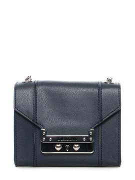 Shoulder bag Moschino Love blue