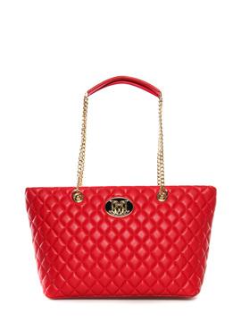 shopper Moschino Love red