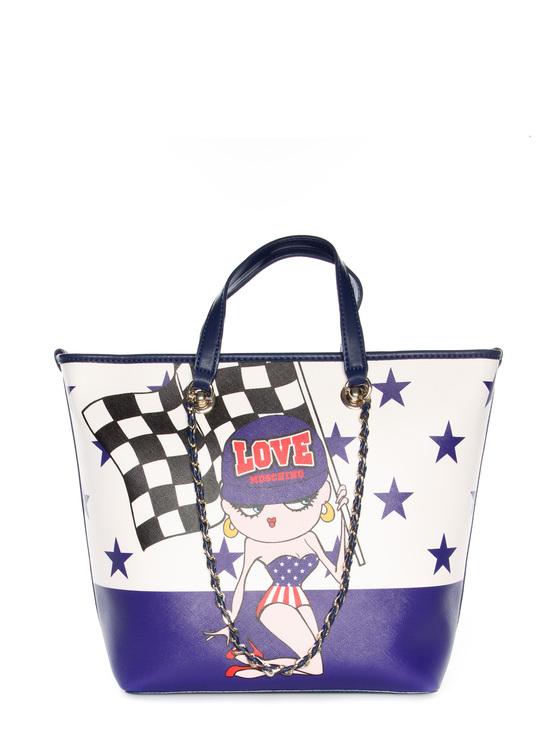 Bag Moschino Love purple