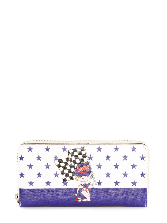 Wallet Moschino Love purple