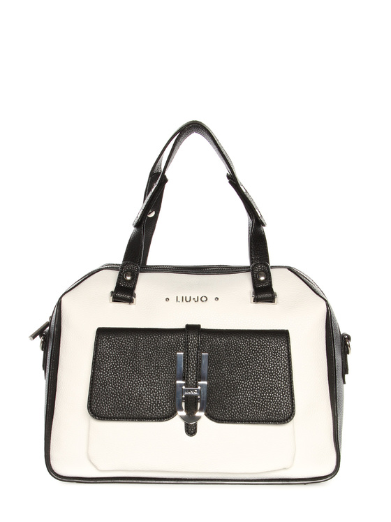 Bag large Liu Jo black-white
