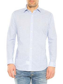 """Shirt """"James"""" Robert Friedman blue"""