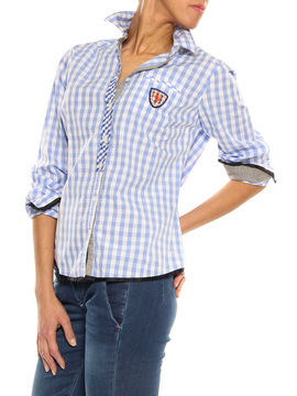 "Shirt ""Basilea"" Luis Trenker blue"
