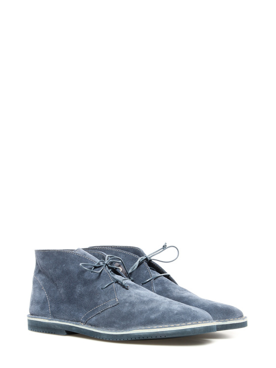 Lace up shoe Lerews blue