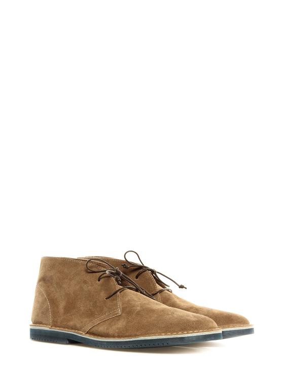 Lace up shoe Lerews brown