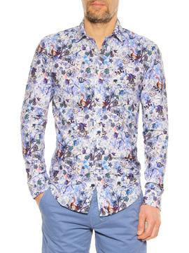 Shirt Stefano Calmonte blue