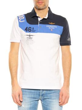 Polo Aeronautica Militare blue-white