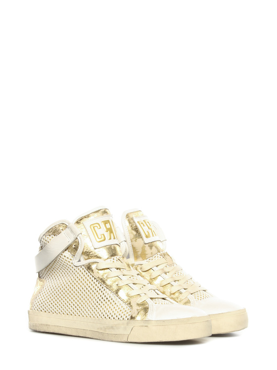 Sneakers Crime gold-white