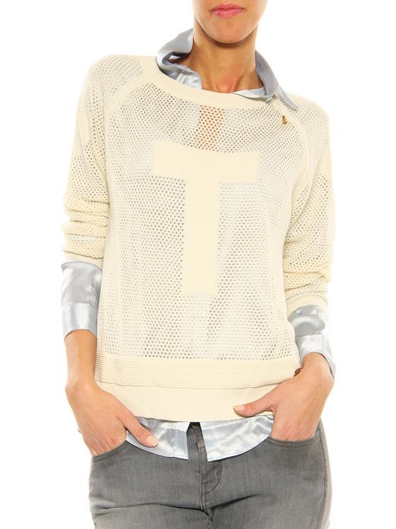 Sweater Twin-Set beige