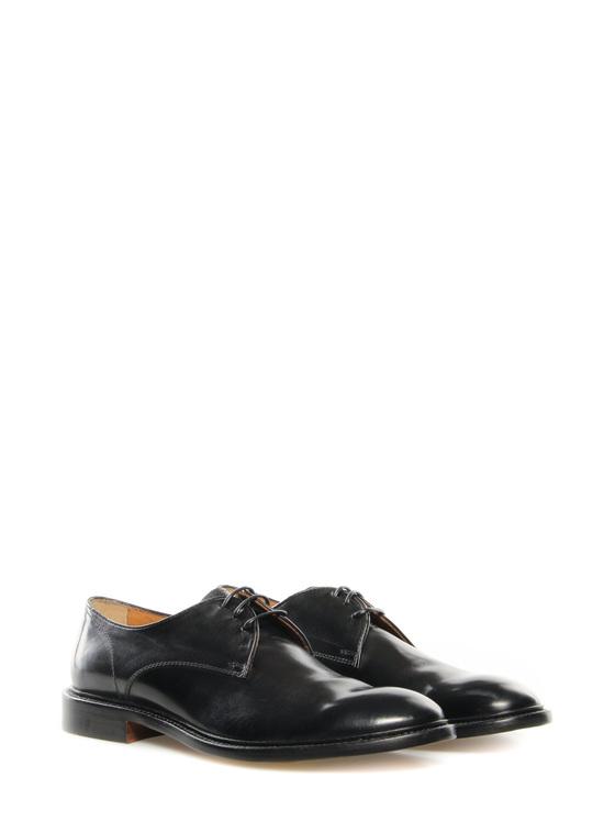 """Lace up shoes """"Flat"""" Doucals black"""