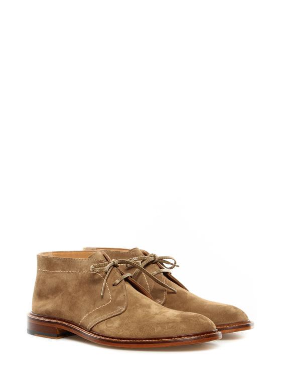 """Lace up shoes """"London"""" Doucals beige"""