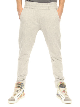 Jogging pants Paolo Pecora light grey