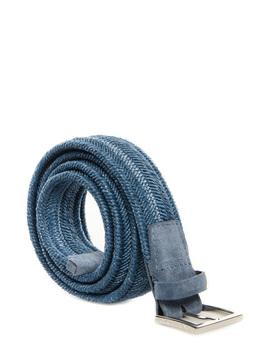 """Belt """"Rope Elast"""" Orciani blue"""