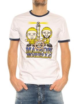 """T-Shirt """"Benigni"""" Frankie Morello white"""