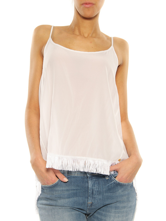 Silk Top Cycle white