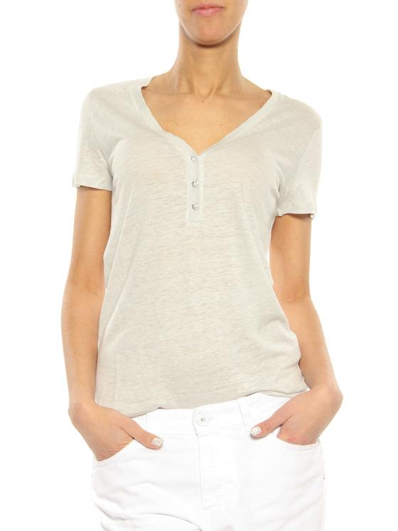 T-Shirt Majestic Filatures grey