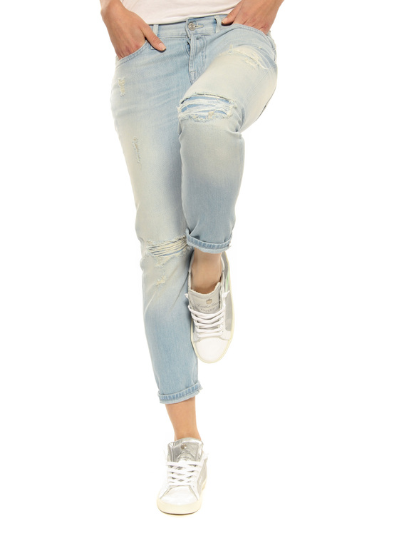 """Jeans """"Josie"""" 7 for all mankind light blue"""