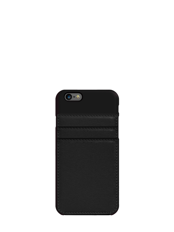 Phone cover Carte Blanche black