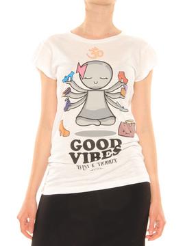 T-Shirt Happiness multi
