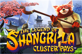 netent - The Legend of Shangri-La: Cluster Pays