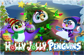 microgaming - Holly Jolly Penguins