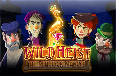 thunderkick - Wild Heist at Peacock Manor