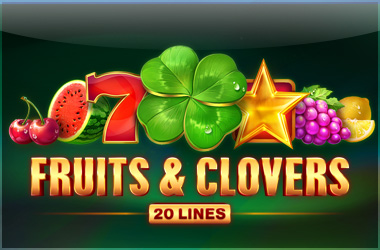playson - Fruits & Clovers: 20 Lines