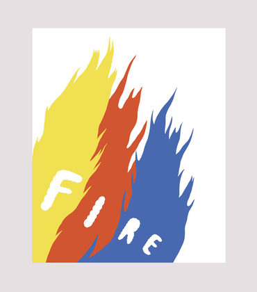 Poster Flammes
