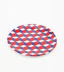 Dessert plate Cube