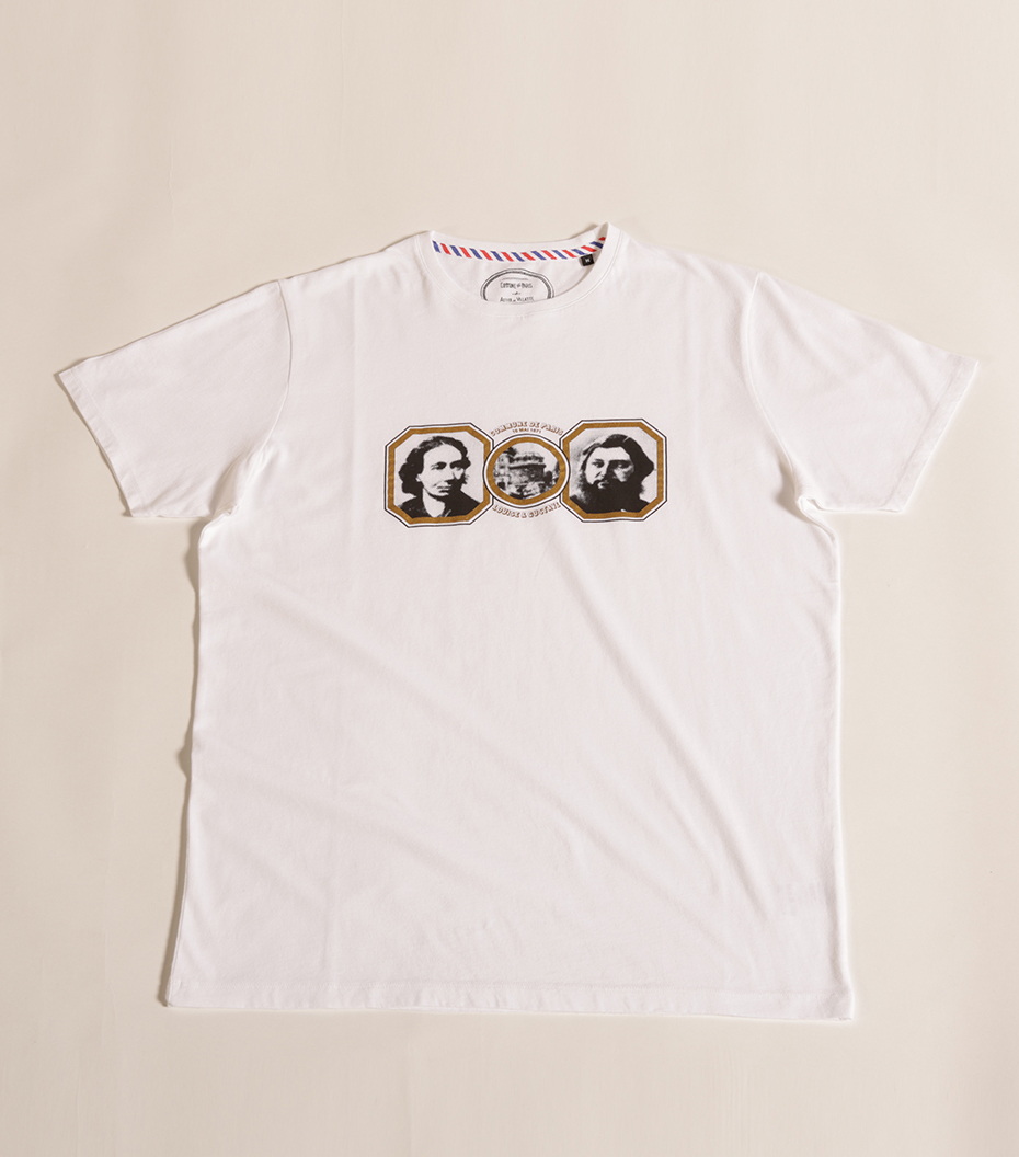 Tee-shirt Louise & Gustave - White