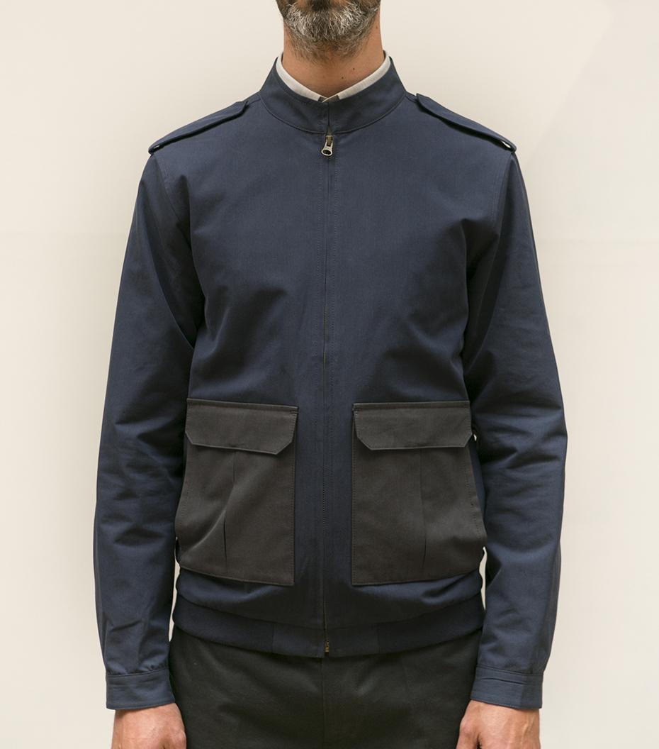 Jacket Jules - Dark blue