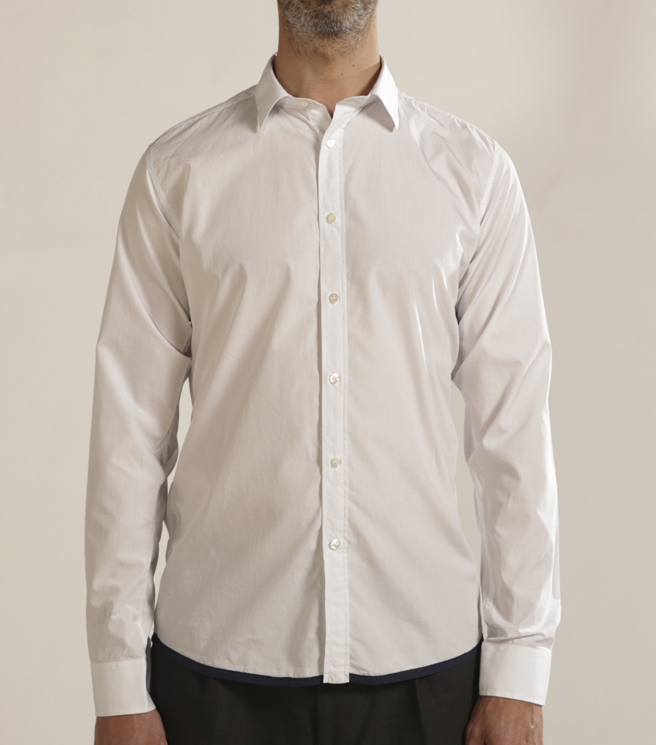 Shirt Jaroslaw 02 - White w/dots