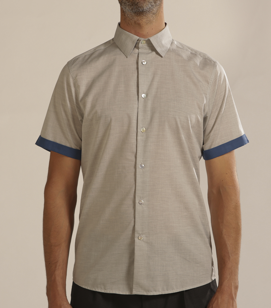 Shirt Moussu - Grey
