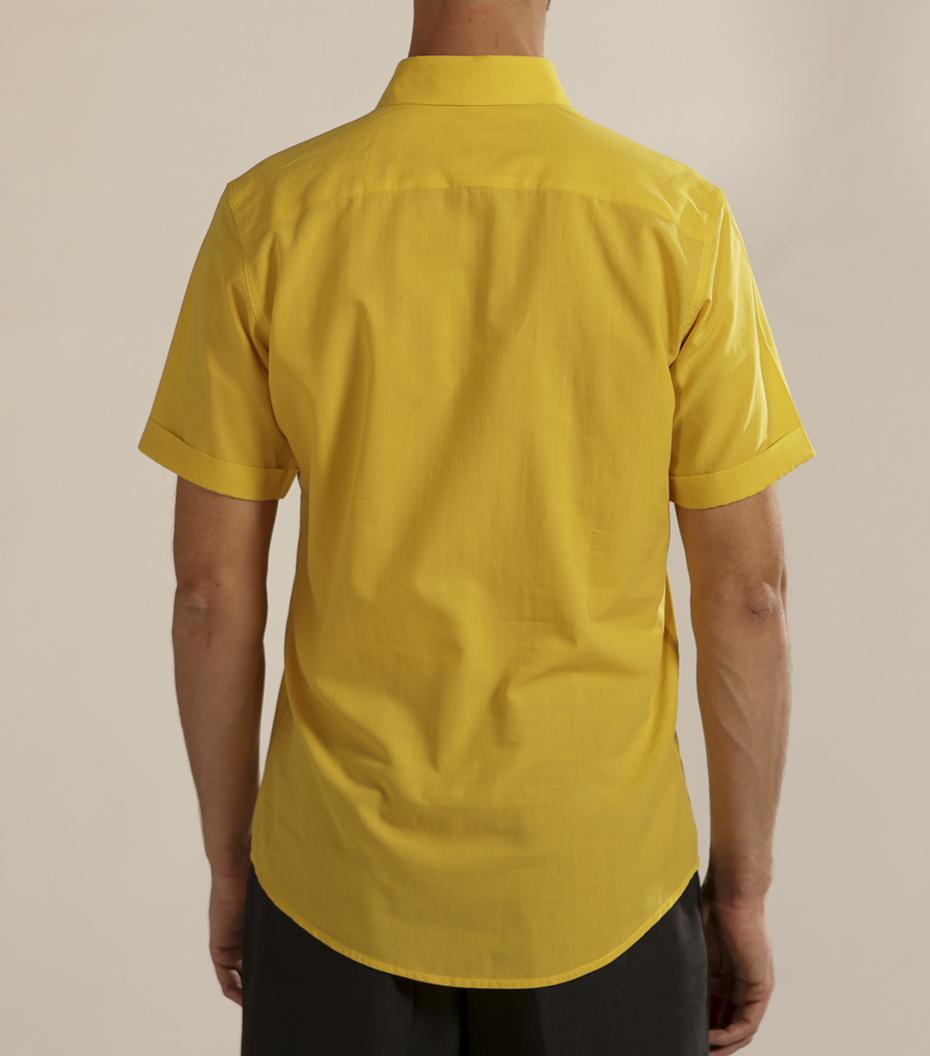 Shirt Moussu - Yellow