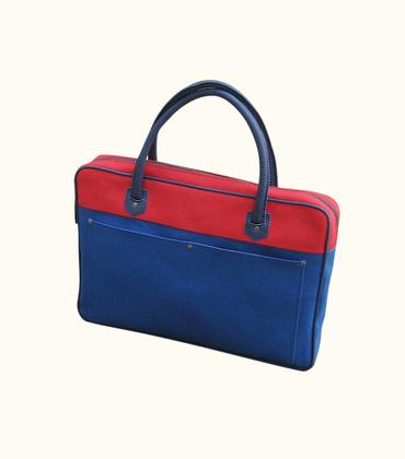 Sac 26 mars - Bleu/rouge