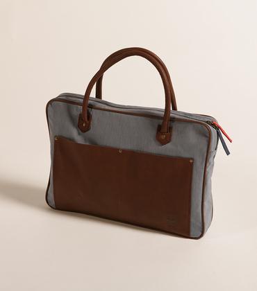 Sac 26 mars - Coton/cuir