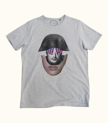Tee-shirt Bicorne - Gris chiné