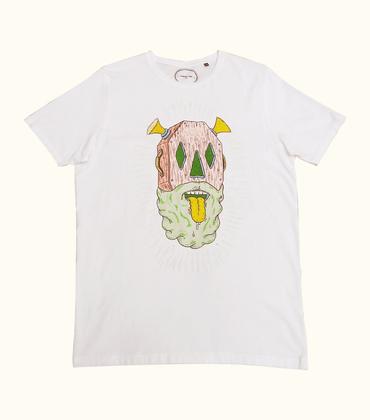 Tee-shirt Cercueil - Blanc