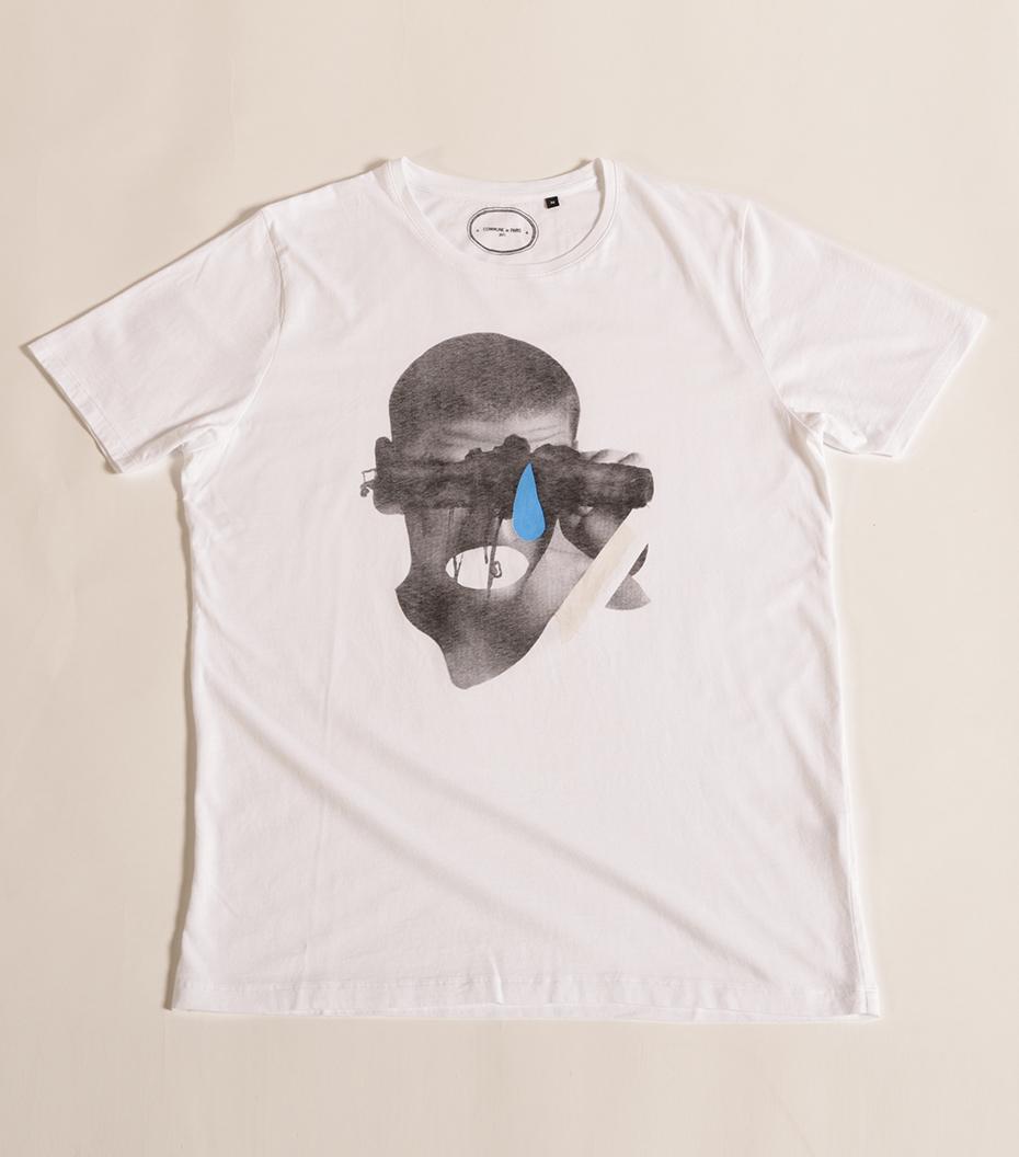 Tee-shirt Larme - White