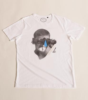 Tee-shirt Larme - Blanc
