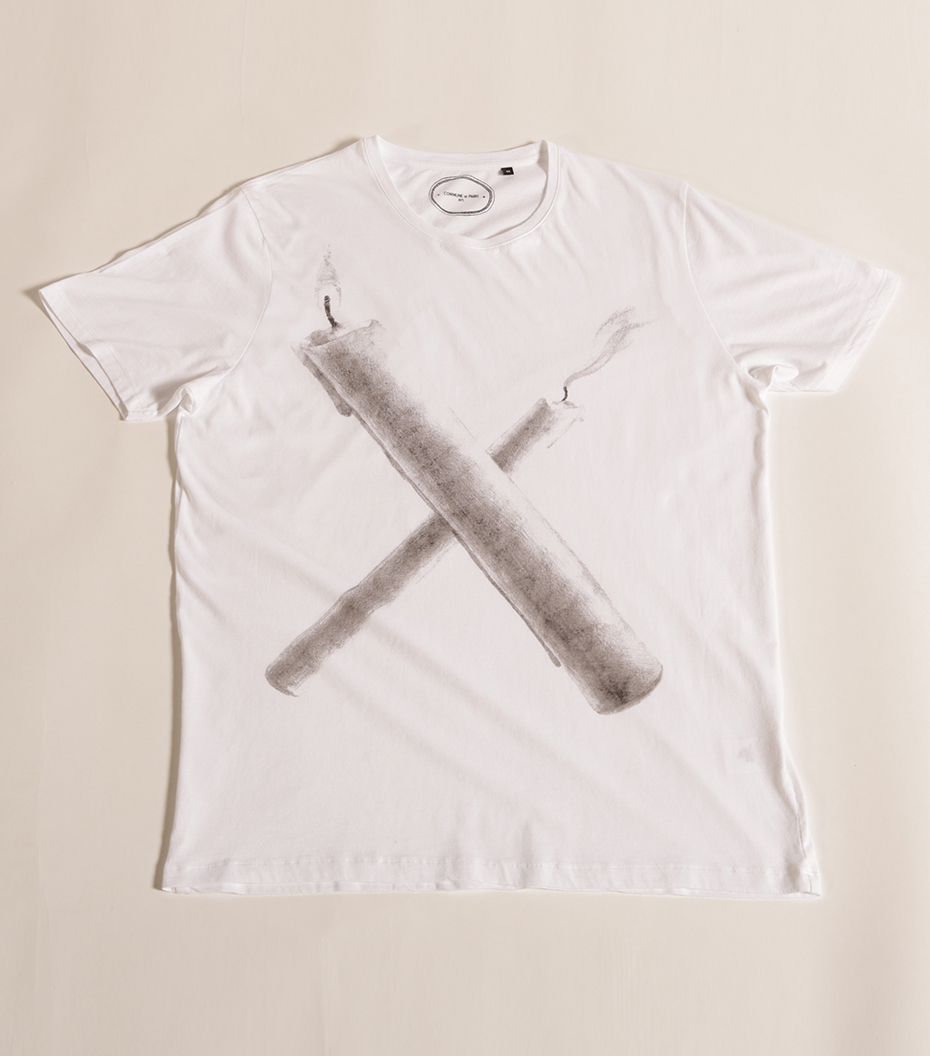 Tee-shirt X - White