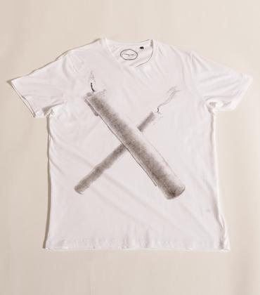 Tee-shirt X - Blanc
