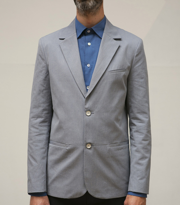 Veste Arthur - Rayures bleues