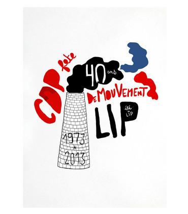Affiche Eté des LIP