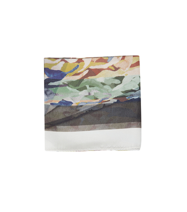 Silk scarf Camo