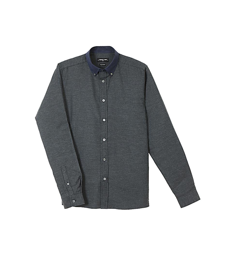 Shirt David 02 - Grey